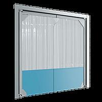 Маятниковые двери пленочного типа DoorHan SSD, фото 1