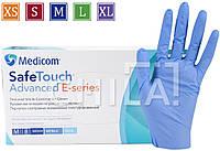 Нитриловые перчатки 3г/м² ОБЛЕГЧЕННЫЕ (100шт/уп) Медиком SafeTouch® Advanced E-series