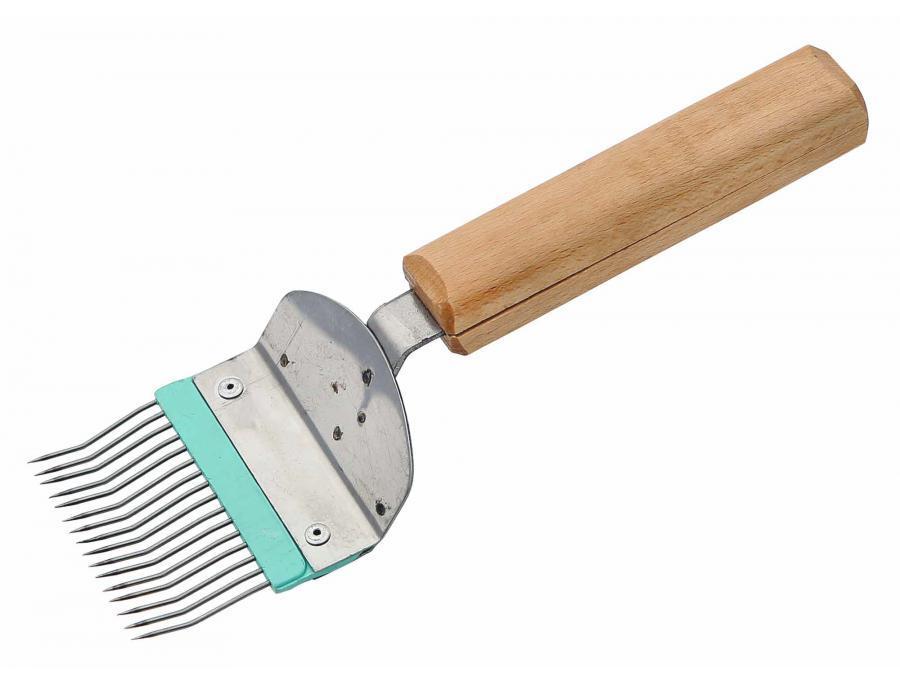 Вилка гнутая деревянная ручка