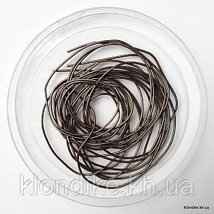 Канитель мягкая, 1 мм, Цвет: Бронзовый (5 грамм)