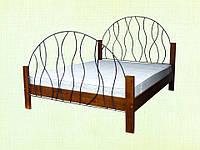 Двоспальне ліжко Бриз