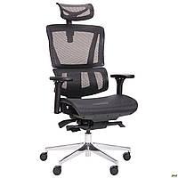 Компьютерное кресло АМФ Agile, с подголовником, анатомическое, фото 1