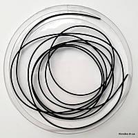 Канитель жесткая, 1 мм, Цвет: Чёрный (5 грамм)