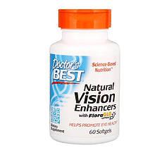 """Комплекс для улучшения зрения Doctor's Best """"Natural Vision Enhancers"""" лютеин и омега-3 (60 гелевых капсул)"""
