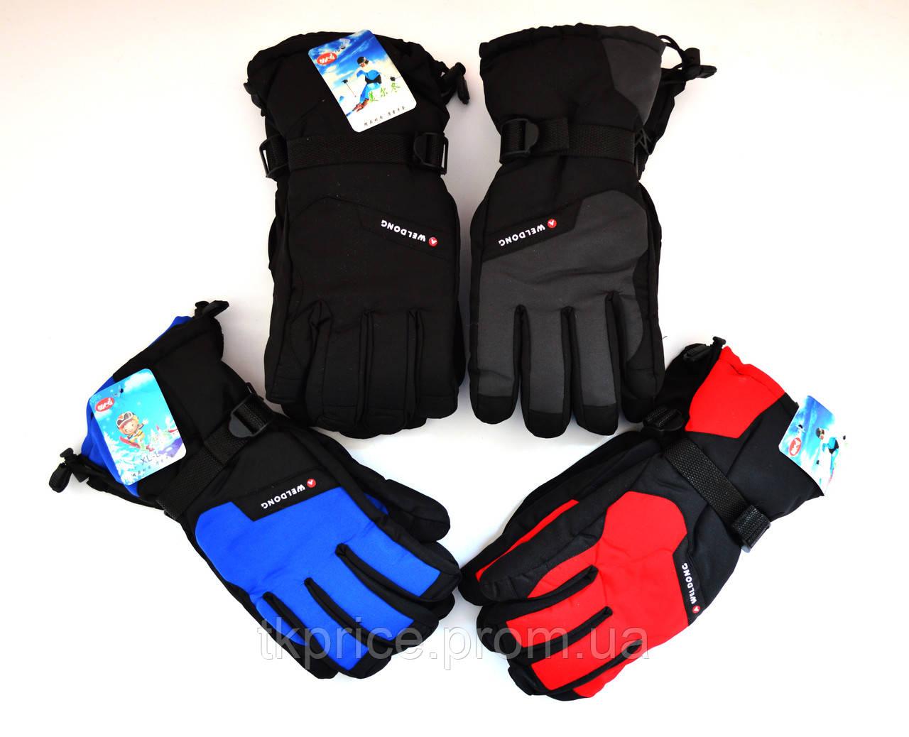 Мужские перчатки на флисовой подкладке