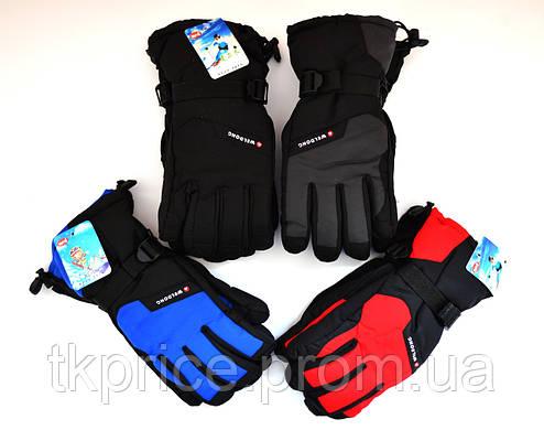 Мужские перчатки на флисовой подкладке, фото 2