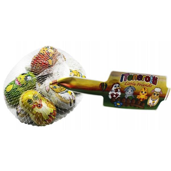 Laica Конфеты шоколадные с молочной начинкой в форме зверушек 100гр Италия