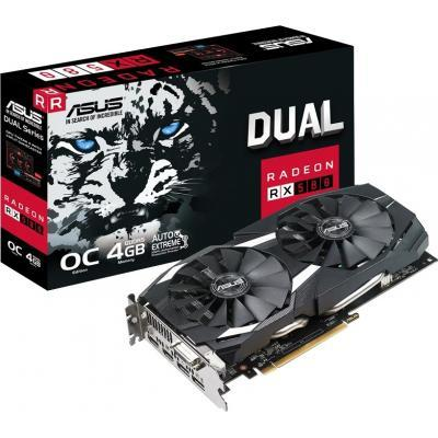 Вiдеокарта ASUS Radeon RX 580 4GB DDR5 DUAL (DUAL-RX580-O4G)