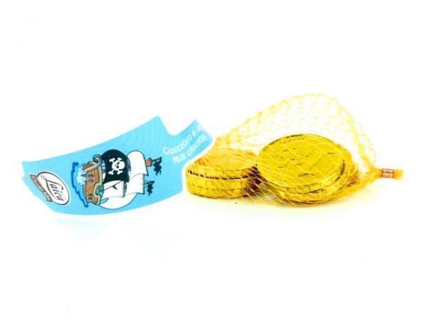 Laica Конфеты Шоколадные Монеты сетка 100 г Италия