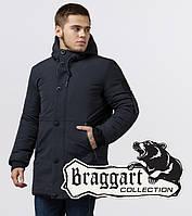 Braggart Black Diamond 9042 | Куртка зимняя мужская графит