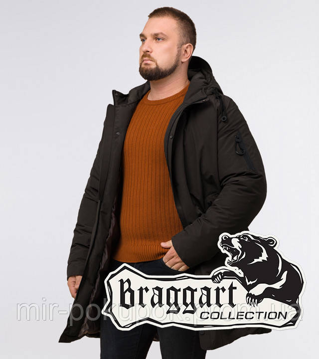 Braggart Black Diamond 23425 | Мужская парка коричневая, фото 1