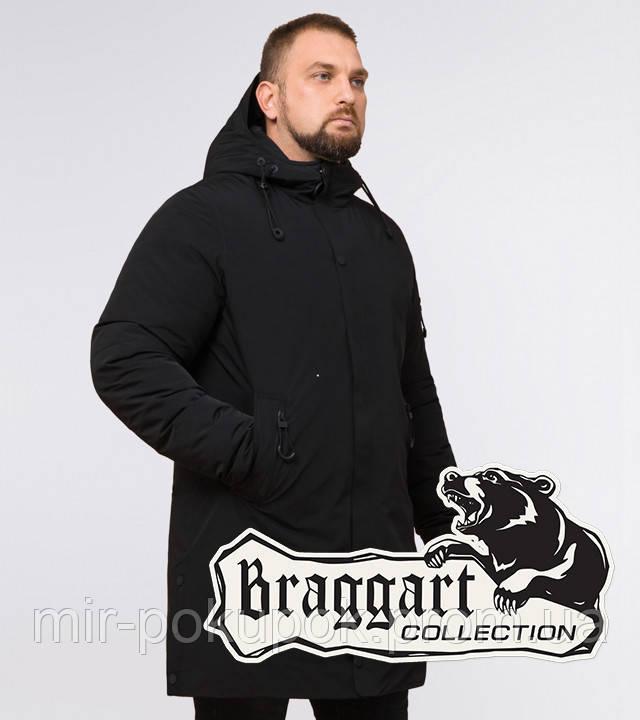 Braggart Black Diamond 23425 | Парка мужская зимняя черная, фото 1