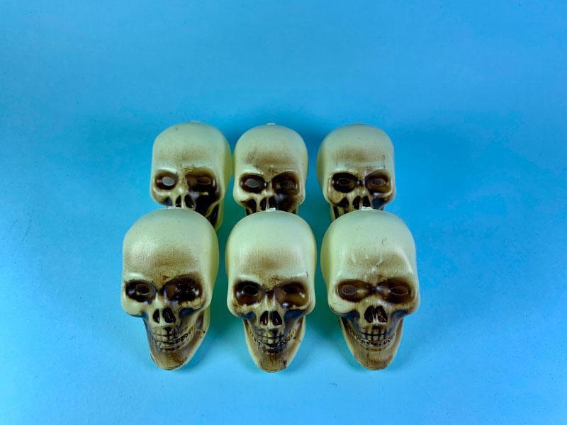 Череп декоративный для украшения интерьера атрибут на Хеллоуин маскарадную вечеринку
