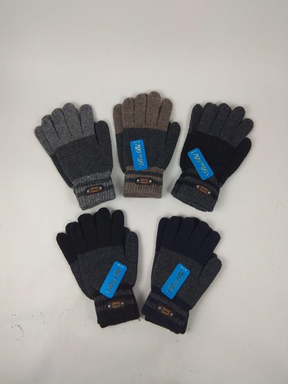 Перчатки подростковые шерстяные  качественные