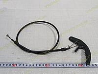 Трос привода замка капота Заз 1102,1103,Таврия Славута  узкая ручка(тяга-проволока), фото 1