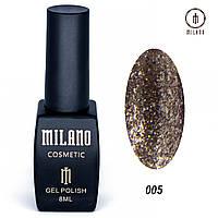 Гель лак Milano Shine collection -005