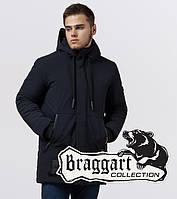 Braggart Black Diamond 9085   Зимняя куртка темно-синяя, фото 1