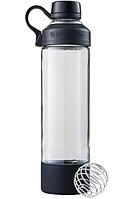 🔥✅ Спортивная бутылка-шейкер BlenderBottle Mantra Glass Black (СТЕКЛО) 600мл (ORIGINAL)