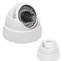 AHD камера видеонаблюдения внутренняя гибридная под регистратор