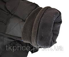 Мужские лыжные перчатки на флисовой подкладке, фото 2