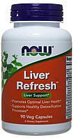 Поддержка печени Now Foods - Liver Refresh (90 капсул)