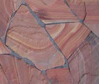 камень-песчаник красный обоженный термообработанный