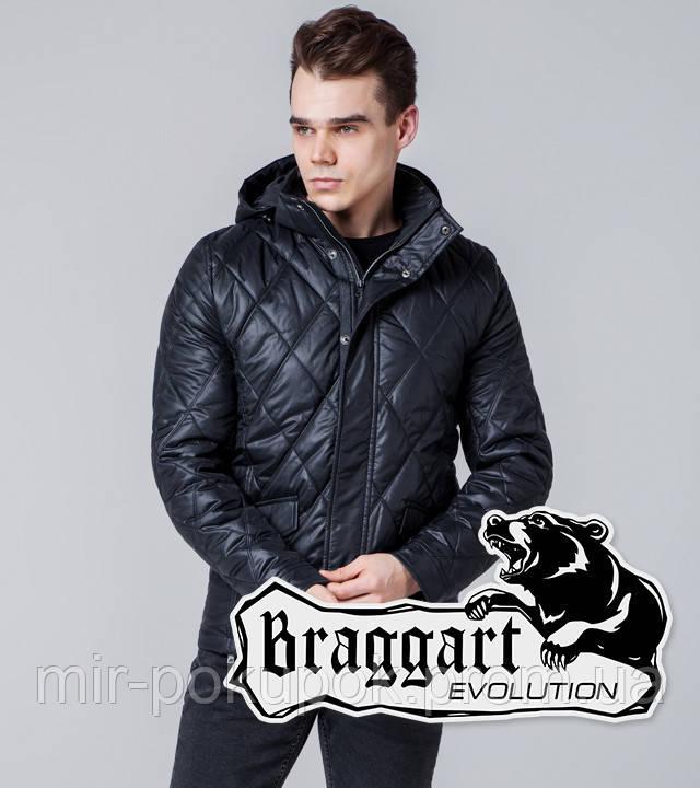 Braggart Evolution 1489 | Мужская ветровка черная, фото 1