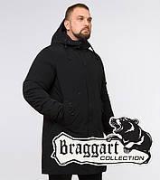 Braggart Black Diamond 23425 | Парка мужская зимняя черная