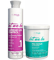 Let me be B-Btox Pro Repair Набор холодный ботекс для волос 2х1000 мл
