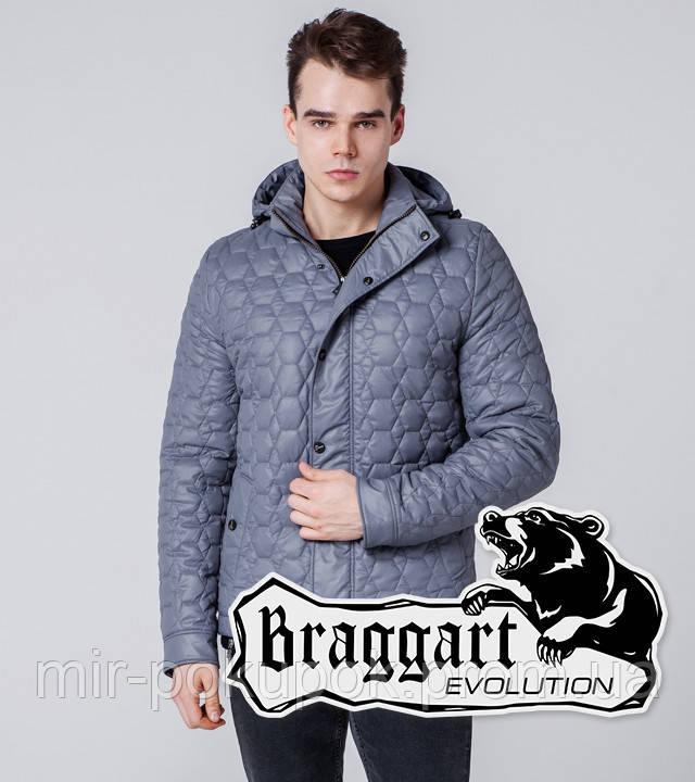 Braggart Evolution 1386 | Мужская ветровка серая, фото 1