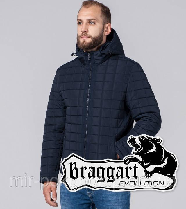 Braggart Evolution 2475 | Мужская куртка с искусственным мехом синяя, фото 1