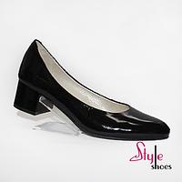 Туфли женские лодочки лаковые