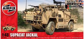 Supacat Jackal Британский бронетранспортер. Сборная модель. 1/48 AIRFIX 05031