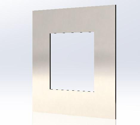 ODF-02-15-01 Крышка декоративная плоская на стойку 40х40