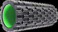 🔥✅ Роллер масажный Fitness Foam Roller PS-4050 Black / Green