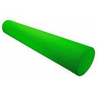 🔥✅ Массажный ролик для фитнеса и аэробики Fitness Roller PS-4075 Green (90 * 15)