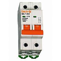 Авт. вим. ВА1-63 2P  10A  4,5кА  х-ка С  ElectrO 45VA63C2010