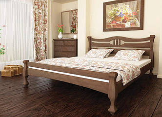 Дерев'яне ліжко Даллас сосна 160х200