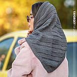 Женская вязанная модная косынка (3цвета), фото 8
