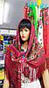 Платок бордовый с бахромой большой (125*125см), фото 4