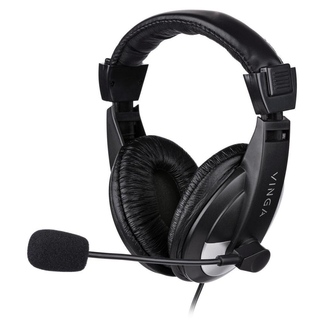 Наушники Vinga HSC035 Black (HSC035BK)