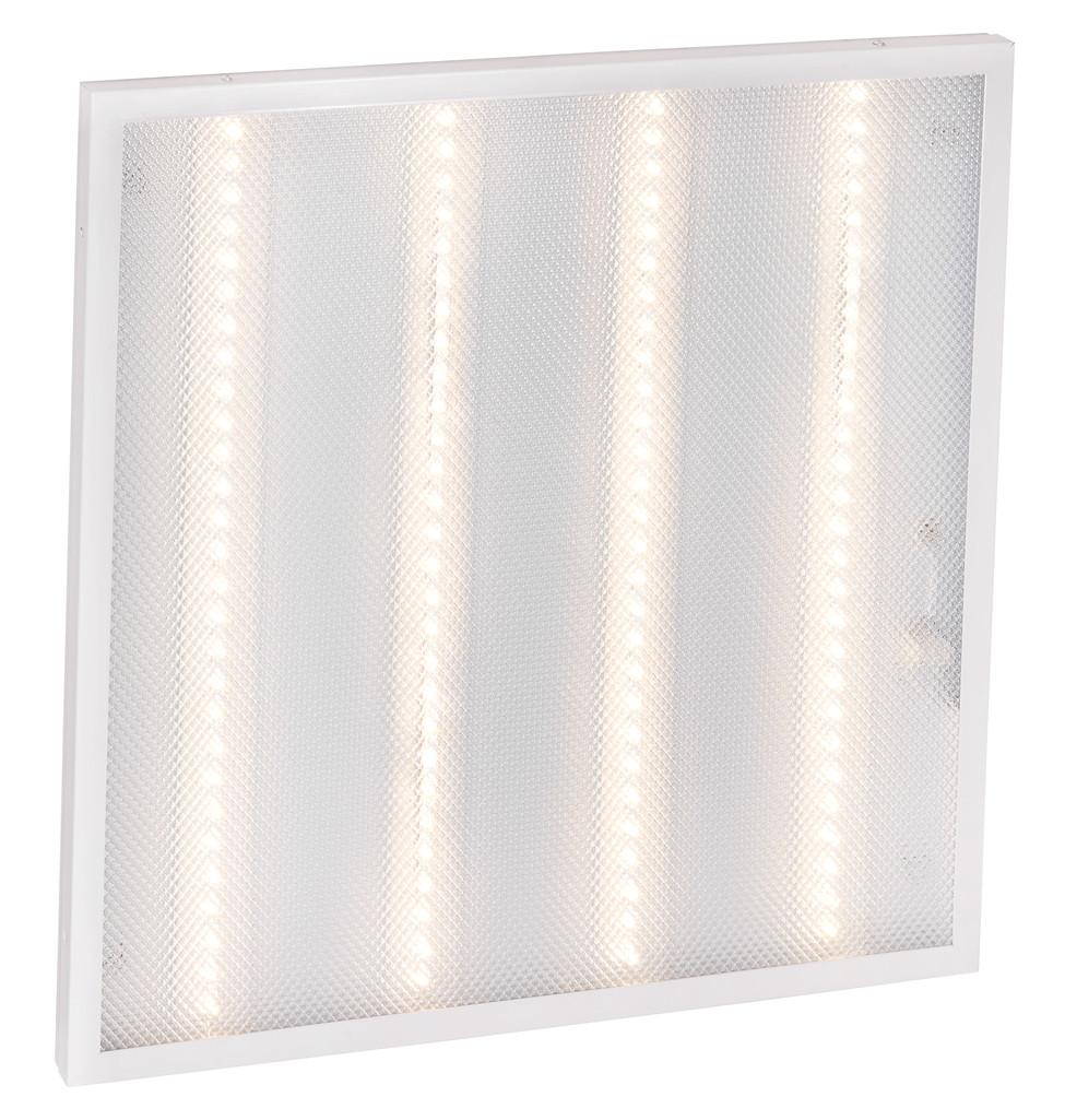 Світильник світлодіодний офісний DELUX CFQ LED 45 36W 4000K (595*595) призм