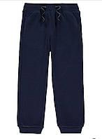 Синие спортивные штаны с начесом George (Англия) р.92/98, 98/104см.