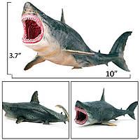 Большая акула Мегалодон Megalodon, фото 1