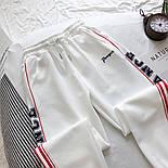 Женские спортивные штаны на манжетах с лампасами vN3491, фото 3