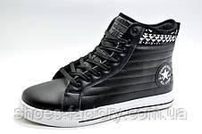 Зимние термо кеды  в стиле Converse, (Флис), фото 2