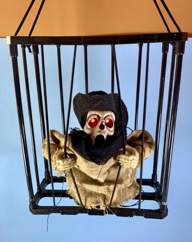 Нежить в клетке оригинальный декор для Хллоуина карнавала тематической вечеринке