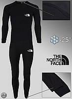Комплект термобелья теплый мужской черный зимний The North Face