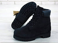 Мужские ботинки Timberland черные