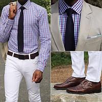 Как носить костюм летом и не потеть